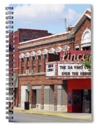 Route 66 Theater Spiral Notebook