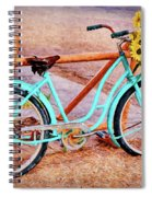 Route 66 Vintage Bicycle Spiral Notebook