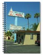 Route 66 - Wigwam Motel 3 Spiral Notebook