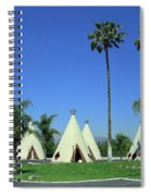 Route 66 - Wigwam Motel 4 Spiral Notebook