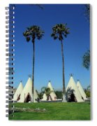 Route 66 - Wigwam Motel Ca Spiral Notebook