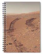 Roving Across Mars 1 - Earth Light Spiral Notebook