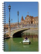 Row Boating In Seville Spiral Notebook