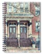 Row House Providence Rhode Island Spiral Notebook