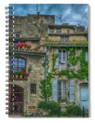 Row Houses Arles France_dsc5719_16_dsc5719_16 Spiral Notebook