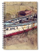 Rowboat Modified Spiral Notebook