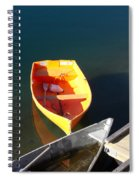 Rowboats In Rockport, Ma Spiral Notebook