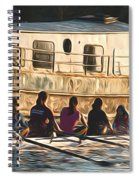 Rowers Spiral Notebook