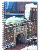 Rowes Wharf Building Spiral Notebook