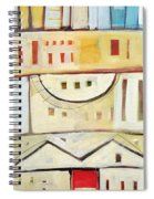 Rowhouse No. 1 Spiral Notebook