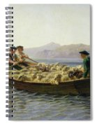 Rowing Boat Spiral Notebook