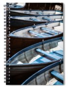 Rowing Boats Spiral Notebook
