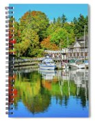 Rowing Club Color Spiral Notebook