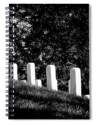 Rows Of Honor Spiral Notebook