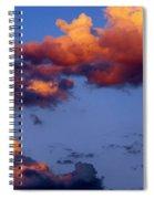 Roy-biv Clouds Spiral Notebook