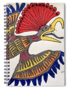 Royal Flycatcher- Mayan 2 Spiral Notebook