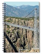 Royal Gorge Bridge In Summer Spiral Notebook