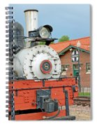 Royal Gorge Train And Depot Spiral Notebook