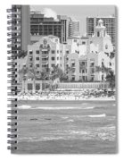 Royal Hawaiian Hotel - Waikiki Spiral Notebook