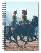 Royal Horse Artillery Painted Spiral Notebook
