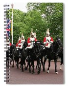 Royal Household Cavalry Spiral Notebook