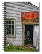 Royal Ice Cream Spiral Notebook