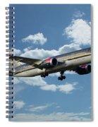 Royal Jordanian 787 Jy-baf Spiral Notebook