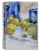 Royal Lemons Spiral Notebook