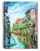 Royal Lights Spiral Notebook