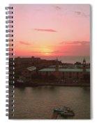 Royal Navy Port Bermuda Spiral Notebook