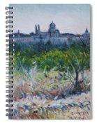 Royal Palace Madrid Spain 2016 Spiral Notebook