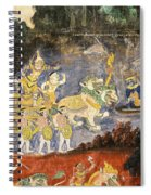 Royal Palace Ramayana 08 Spiral Notebook