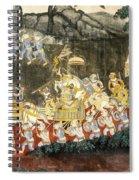 Royal Palace Ramayana 11 Spiral Notebook