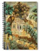 Royal Palace Ramayana 12 Spiral Notebook