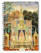 Royal Palace Ramayana 13 Spiral Notebook