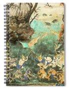 Royal Palace Ramayana 15 Spiral Notebook