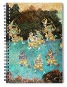 Royal Palace Ramayana 16 Spiral Notebook