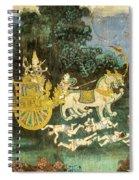Royal Palace Ramayana 19 Spiral Notebook