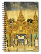 Royal Palace Ramayana 20 Spiral Notebook