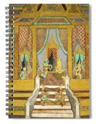 Royal Palace Ramayana 21 Spiral Notebook