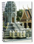 Royal Palace Shrine 02  Spiral Notebook