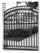 Royal Palm Gate Spiral Notebook