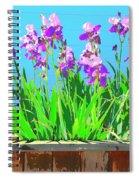 Royal Purple Spiral Notebook