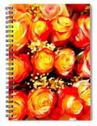Royal Roses Spiral Notebook