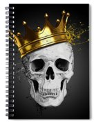 Royal Skull Spiral Notebook