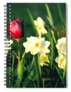 Royal Spring Spiral Notebook