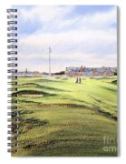 Royal Troon Golf Course Spiral Notebook