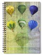 Roygbiv Balloons Spiral Notebook
