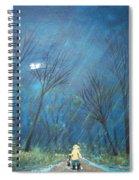 Roy's Rainy Run Spiral Notebook