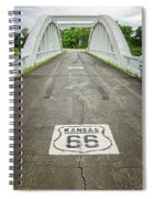 Rt. 66 Rainbow Bridge Spiral Notebook